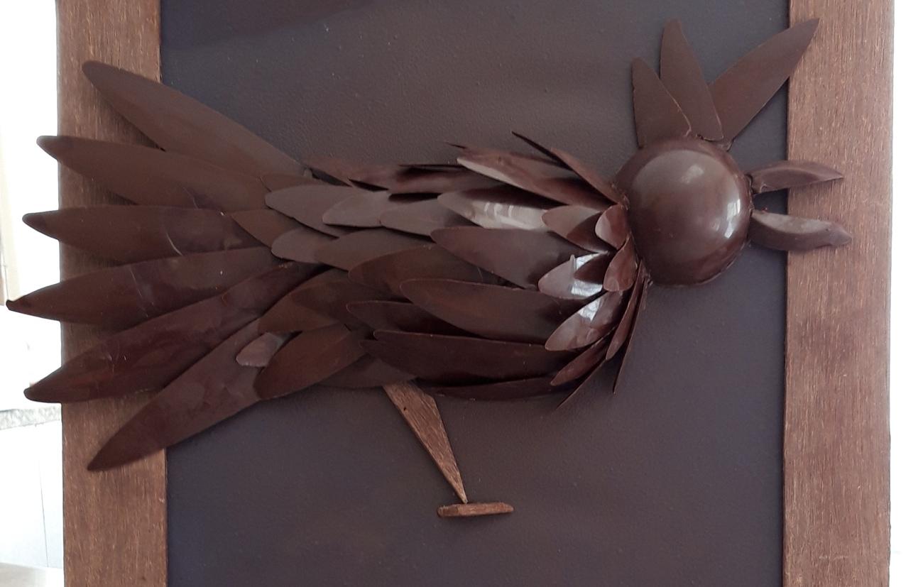 poule en chocolat pâques