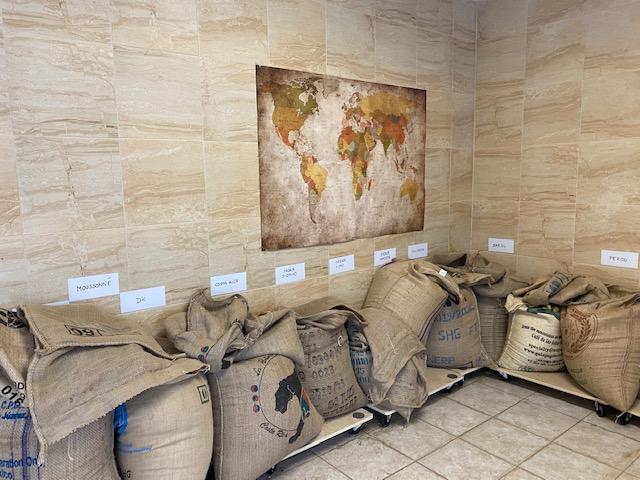 sacs de café